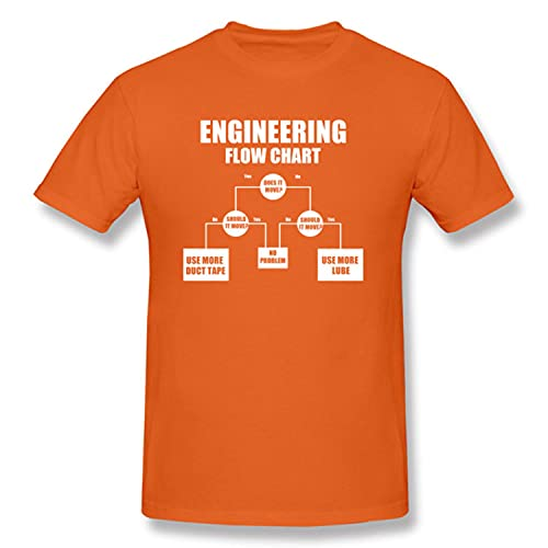 Engineering Flow Chart Oversized Father Tshirt Programmer Computer IT IC Schematic Image Men T Shirt Fashion Custom