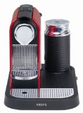 Krups XN 7106 Nespresso CitiZ & Milk fire-engine red, Plus X Award & Reddot DesignAward