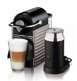 Krups XN 3015 Nespresso Pixie Electric Titan mit Milchaufschäumer Aeroccino3