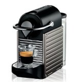 Krups XN 3005 Nespresso Pixie (19 bar, Thermoblock-Heizsystem) electric titan