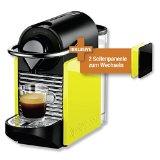 Turmix Nespressomaschine TX 160 Pixie Clips Black & Lemon Neon