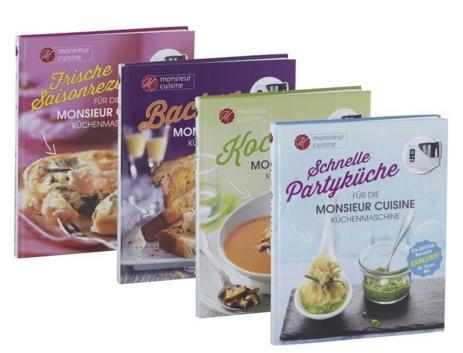 Monsieur Cuisine Kochbucher Zu Der Lidl Kuchenmaschine