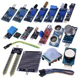 Kuman 16 in 1 Modules Sensor Kit Learning Package for Arduino UNO R3 Mega2560 Nano Raspberry Pi K62