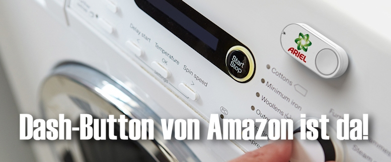 Per Dash-Button Amazon Produkte bestellen
