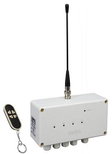 ETERO Funkschalter Set mit Sender, 4-Kanal, RWS-211C/N