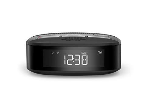 Philips Audio Radiowecker Radio DAB+ (Doppelter Alarm, Sleep Timer, Kompaktes Design, DAB+/UKW Digitalradio, Automatische Zeitsynchronisierung, Batteriesicherung) - 2020/2021 Modell TAR3505/12