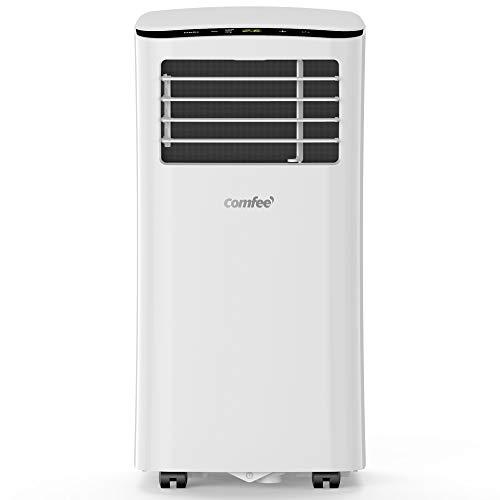 Comfee MPPH-07CRN7 Mobiles Klimagerät, 1100 W, 230 V, weiss, 34, 5 x 35, 5 x 70, 3 cm (BTH), Weiß, 34, 5 x 35, 5 x 70, 3 cm(BTH)