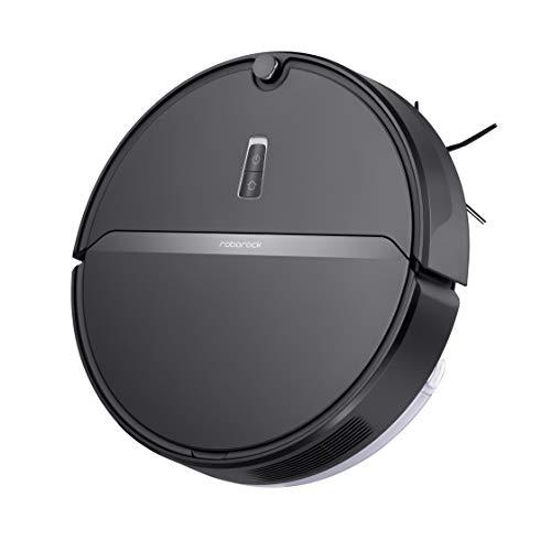 Roborock E4 Saug- und Wischroboter (Saugleistung 2000Pa, 150min Akkulaufzeit, 640ml Staubbehälter, 180ml Wassertank, 69dB Lautstärke, Gyroskopen-Sensoren-Routensystem, App-/Sprachsteuerung) Schwarz