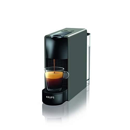 Krups Nespresso XN1108 Essenza Mini Kaffeekapselmaschine | 1260 Watt | Sehr kompakt | 0,6 Liter Wassertank | 19 bar | Schwarz
