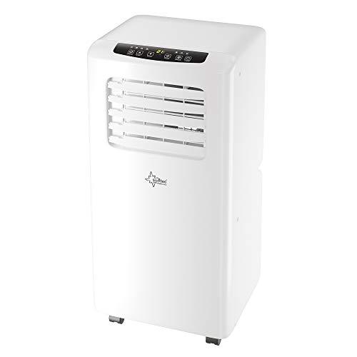 SUNTEC Mobiles lokales Klimagerät Impuls 2.6 Eco R290 | Klimaanlage für Räume bis 34 qm | Abluftschlauch | Kühler und Entfeuchter mit ökologischem Kühlmittel R290 | 9.000 BTU/h | Für Wohnung & Büro