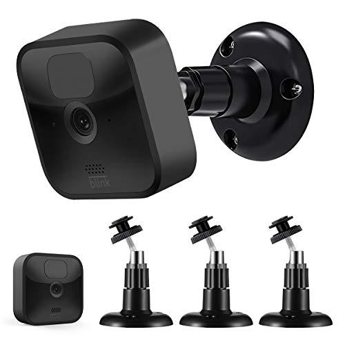 Blink Outdoor Halterung, Sonomo Verstellbare Wandhalterung Halter für die Blink Outdoor Kamera & Blink Indoor Sicherheitskamera System Zubehör (Schwarz, 3 Pack)
