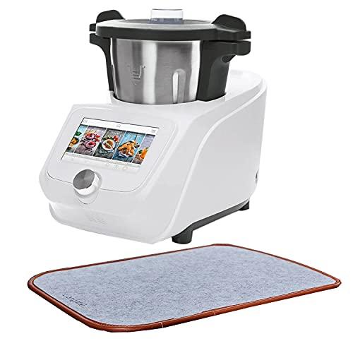 LiangMai Gleitbrett für Monsieur Cuisine Connect (MCC), Zubehör für Küchenmaschine, grau Slip Pad Gleiter Unterlage Küchenarbeitsplatte Schutz Zubehör