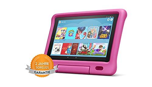 Fire HD 10 Kids-Tablet   Ab dem Vorschulalter   10,1 Zoll, 1080p Full HD-Display, 32 GB, pinke kindgerechte Hülle (vorherige Generation – 9.)