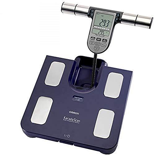 OMRON Körperanalysegerät BF511, klinisch validiert, mit 8 hochpräzisen Sensoren zur Messung an Händen und Füßen – blau