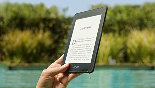 Kindle Paperwhite, wasserfest, 6Zoll (15cm) großes hochauflösendes Display, 8GB – ohne Werbung - Schwarz