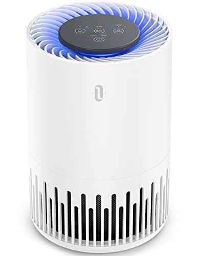TaoTronics Luftreiniger TT-AP001 Air Purifier mit 3-in-1 HEPA Filter 20m² 4 Lüfterstufen 99,97% Filterleistung Leiser Betrieb gegen Staub Pollen Tierhaare Weiß