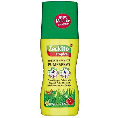 Insektenschutz Pumpspray ZECKITO TROPICAL (8 Std. Schutz/100 ml) GEGEN MALARIA - MÜCKEN