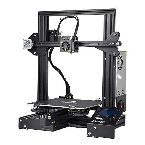 Comgrow Creality Ender 3 3D Drucker Aluminum DIY mit Druckvorgang 220x220x250mm