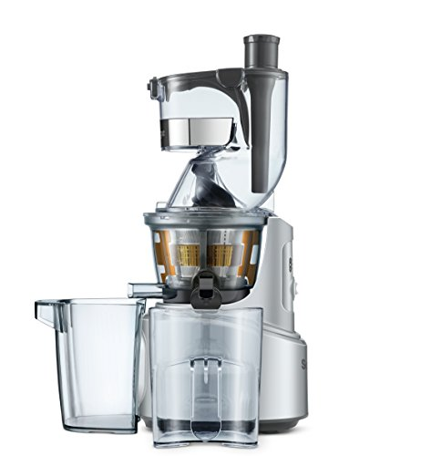 Sage Appliances SJS700 the Big Squeeze, Slow-Juicer, Silber