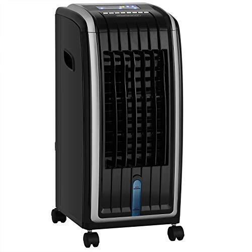 Klimagerät 4in1 5L Tank Timer 3 Stufen LED Display Mobil Luftbefeuchter Ventilator Klimaanlage Ionisator Luftkühler