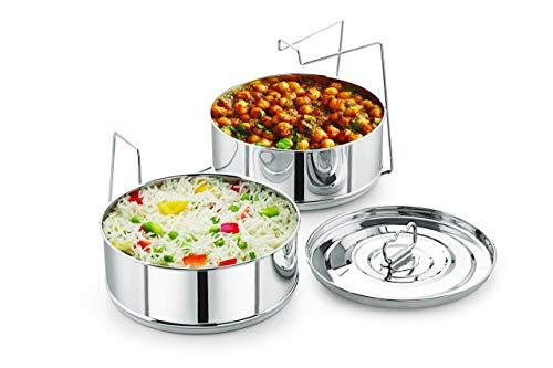 Stapelbare Edelstahl-Pfannen – 6QT-Einsätze für Instant Pot – Pfanne für Instapot – Zubehör für Instant Pot – passend für 6 QT und höher – Schnellkochtopf-Zubehör