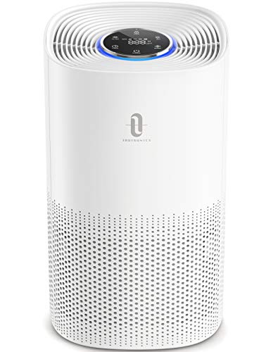 TaoTronics Luftreiniger H13 HEPA Air Purifier CADR 250m³/h bis zu 50m³ 99,97% Filterleistung gegen Staub Tierhaare Aktivkohlefilter mit Auto Modus