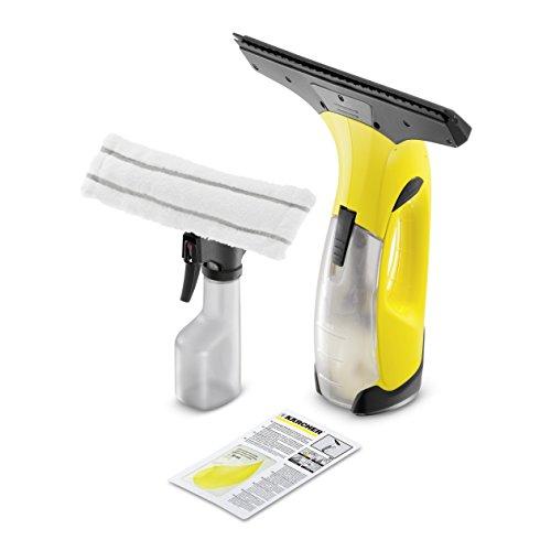 Kärcher Akku Fenstersauger WV 2 Plus für Fenster, Fliesen, Spiegel & Dusche, Fensterreiniger-Set, Fensterputzer Reinigungsgerät, schnell & zuverlässig