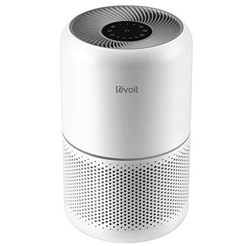 Levoit Luftreiniger Air Purifier gegen 99,97% Allergie Rauch Pollen Aerosole Staub, CADR 187m³/h, bis zu 40㎡, echter H13 HEPA & Aktivkohle Luftfilter, 2/4/6/8 Std.Timer und Schlafmodus, Core 300