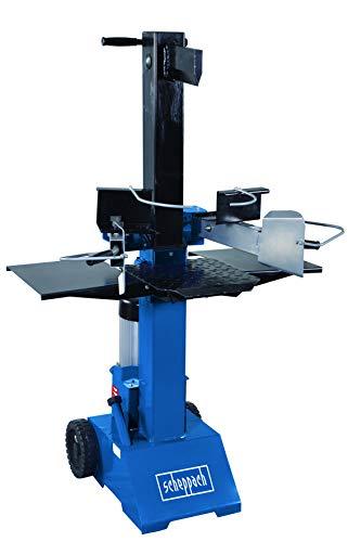 Scheppach HL810 Hydraulikspalter Holzspalter bis 550 mm   8 Tonnen Spaltkraft 8t   Brennholzspalter 230V   Holzspalter stehend 3000 W