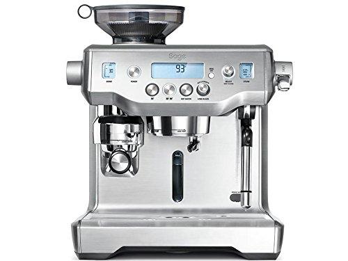 Sage Appliances SES980 Espresso-Maschine, Edelstahl, Brushed Steel
