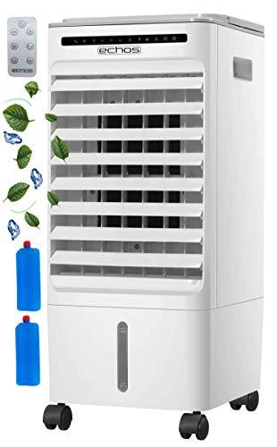 3in1 Aircooler | 6 Liter | 7h Timer | 3 Modi | 3 Stufen | Oszillierend | Klimagerät | Mobile Klimaanlage | Luftreiniger | Ventilator | Luftkühler | Luftbefeuchtung | Klima Anlage | Standventilator