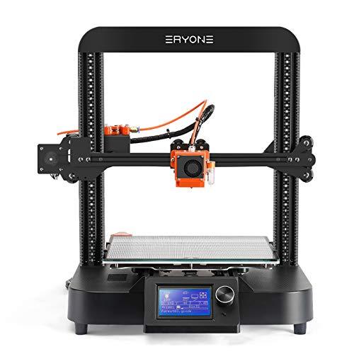 ERYONE 3D Printer ER 20 3D Drucker, Bettsensor mit automatischer Nivellierung, Super Quiet 3D Drucker mit TMC2209, leistungsstarkes 32-Bit-Motherboard, 250 * 220 * 200mm