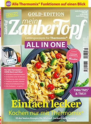 Mein Zaubertopf Gold Edition 2/20 - All in One Rezepte für Thermomix® TM5® TM31 TM6