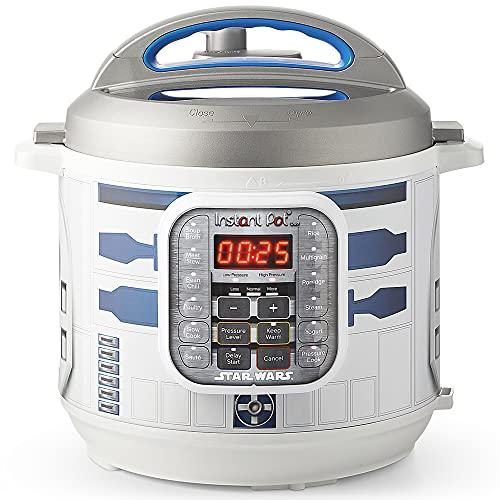 Instant Pot Duo 60 (R2D2) Star Wars Elektrischer Schnellkochtopf, Multikocher in Edelstahl, 1000 W, 5.7 Liter