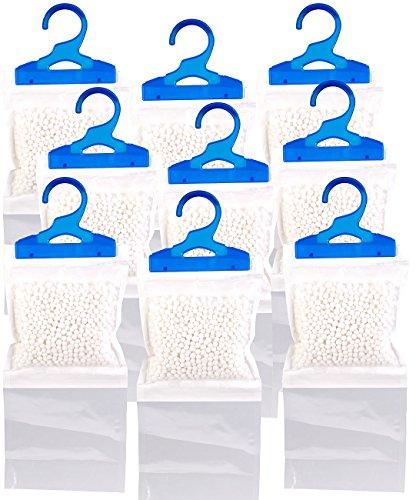 Sichler Haushaltsgeräte Entfeuchter Schrank: 9er-Set XL-Kleiderschrank-Entfeuchter zum Aufhängen, je bis zu 450 ml (Luftentfeuchter Schrank)