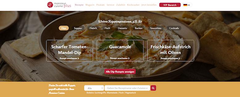 Zubehör und Rezepte: Monsieur Cuisine von Lidl