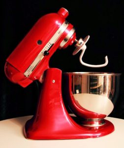 KitchenAid von Artisan in Rot 01
