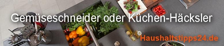 Zerkleinerer, Gemüseschneider oder Küchen-Häcksler