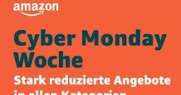 amazon Cyber Monday Woche Deals