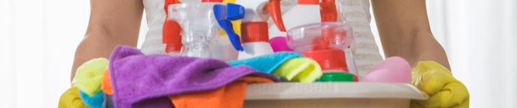 Reinigungsmittel im Haushalt