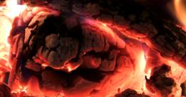 Brennholz Feuchtigkeit feinstaub und rauch kaminofen glut feuer